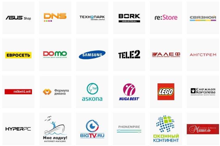 Магазины партнеры Почта Банка