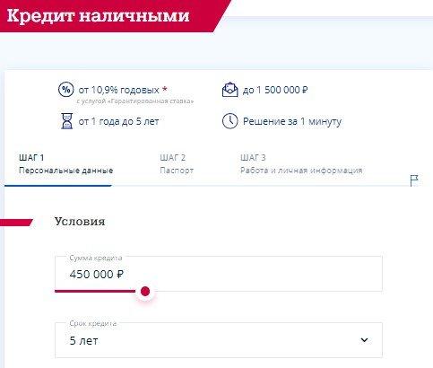 Как взять кредит наличными в Почта Банке России?